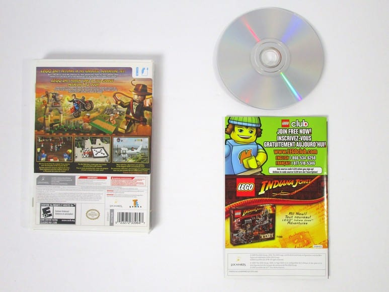 LEGO Indiana Jones 2: The Adventure Continues game for Wii (Complete) | The Game Guy