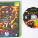 Lord of the Rings Third Age game for Microsoft Xbox -Game & Case