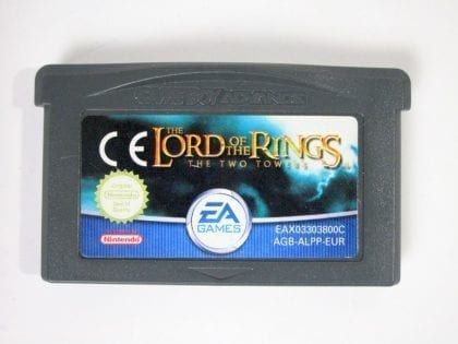 Lord of the Rings Two Towers game for Nintendo Gameboy Advance - Loose