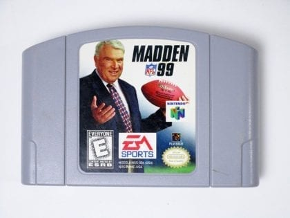 Madden 99 game for Nintendo 64 N64 - Loose