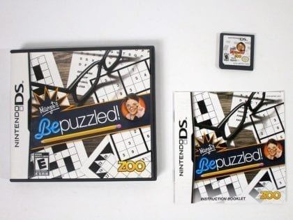 Margot's Bepuzzled game for Nintendo DS -Complete