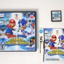 Mario and Sonic Olympic Winter Games game for Nintendo DS -Complete