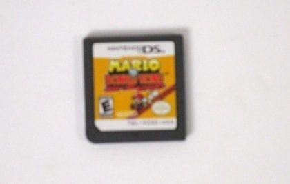 Mario vs. Donkey Kong Mini-Land Mayhem game for Nintendo DS - Loose