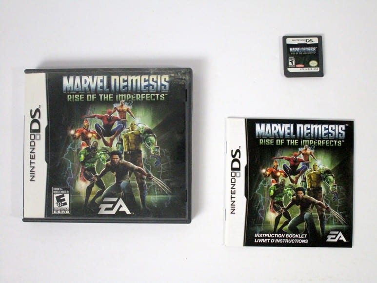 Marvel Nemesis Rise of the Imperfects game for Nintendo DS -Complete