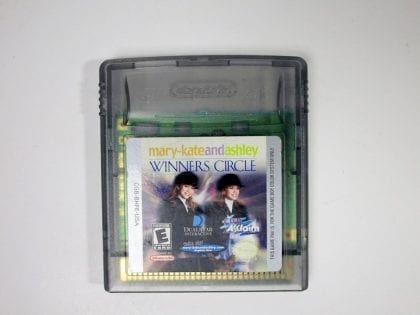 Mary-Kate and Ashley Winner's Circle game for Nintendo GameBoy Color - Loose
