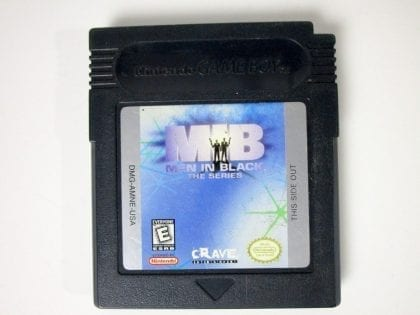 Men in Black the Series game for Nintendo GameBoy Color - Loose
