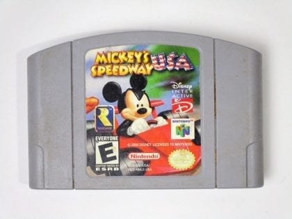 Mickey's Speedway game for Nintendo 64 N64 - Loose