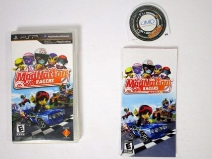 ModNation Racers game for Sony PSP -Complete