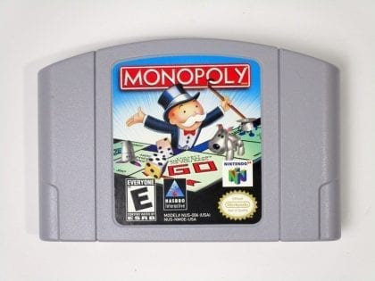 Monopoly game for Nintendo 64 N64 - Loose