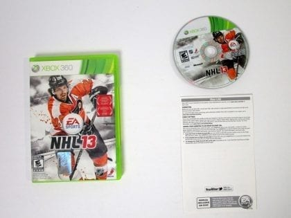 NHL 13 game for Microsoft Xbox 360 -Complete