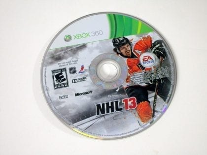 NHL 13 game for Microsoft Xbox 360 - Loose
