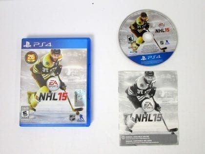 NHL 15 game for Sony Playstation 4 PS4 -Complete