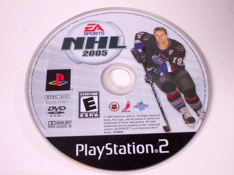 NHL 2005 game for Sony Playstation 2 PS2 - Loose