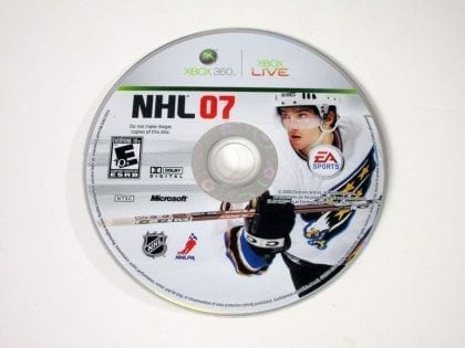 NHL 2007 game for Microsoft Xbox - Loose