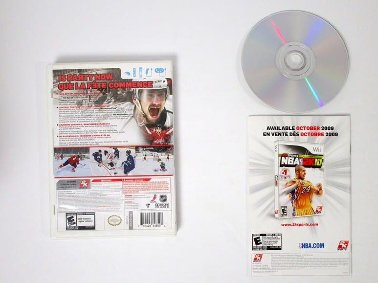 NHL 2K10 game for Wii (Complete) | The Game Guy