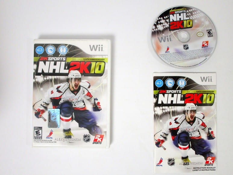 NHL 2K10 game for Nintendo Wii -Complete