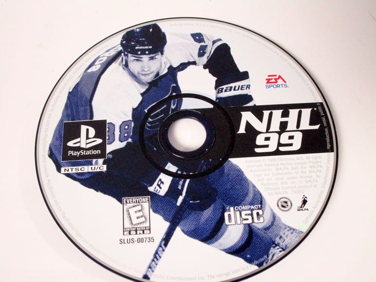 NHL 99 game for Sony Playstation PS1 PSX - Loose