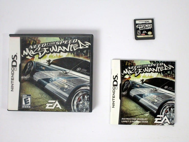 Need for Speed Most Wanted game for Nintendo DS -Complete