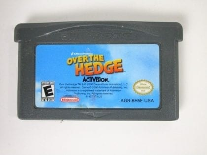 Over the Hedge game for Nintendo Gameboy Advance - Loose