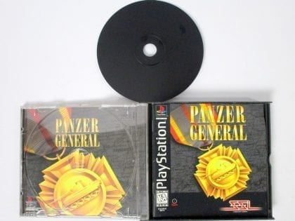 Panzer General game for Playstation (Complete) | The Game Guy