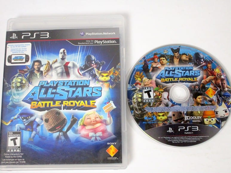 Playstation All-Star Battle Royale game for Playstation 3 ...