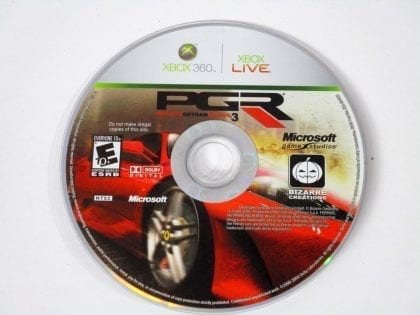 Project Gotham Racing 3 game for Microsoft Xbox 360 - Loose