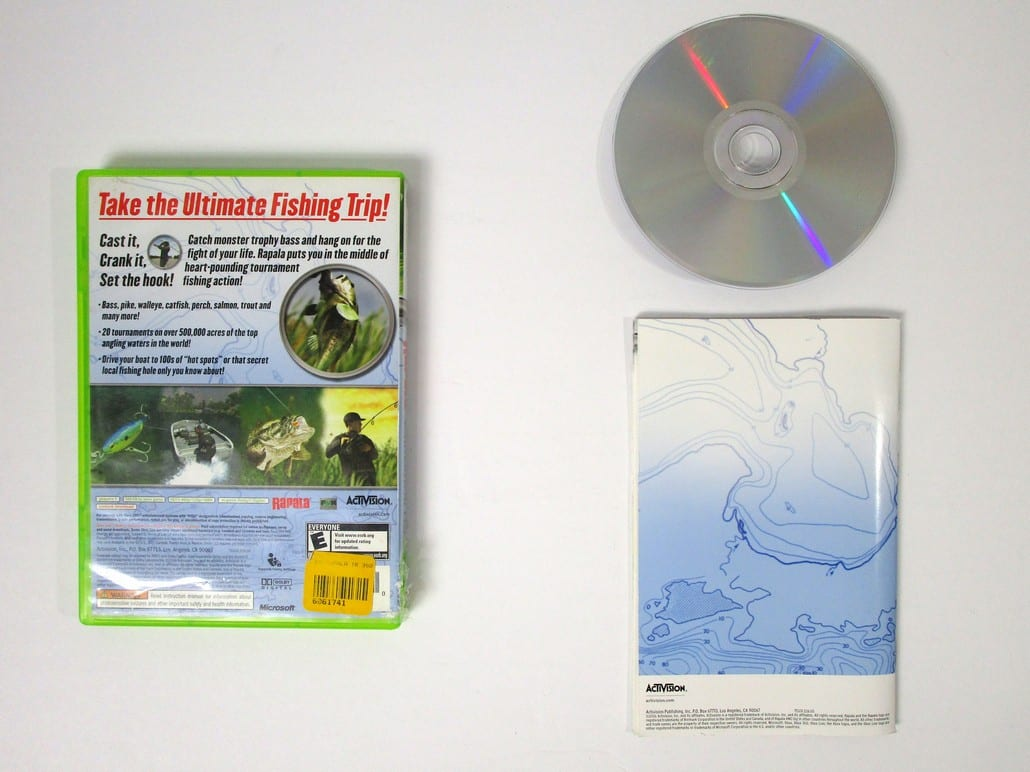 Rapala tournament fishing game for xbox 360 complete for Xbox 360 fishing games