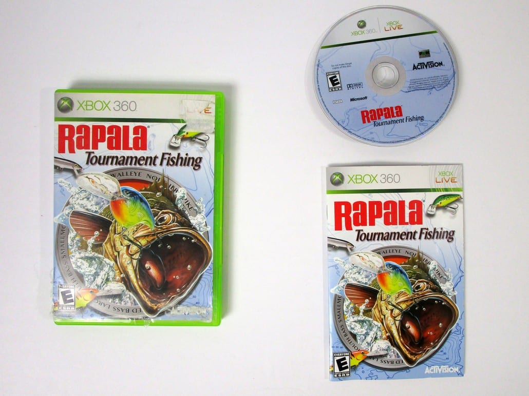 Rapala Tournament Fishing Game For Xbox 360 Complete The Game Guy