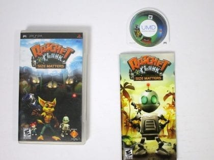 Ratchet and Clank Size Matters game for Sony PSP -Complete