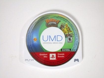 Ratchet and Clank Size Matters game for Sony PSP - Loose