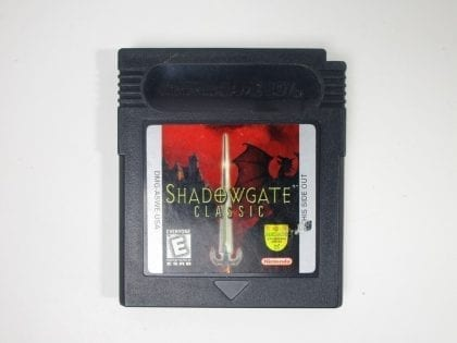 Shadowgate Classic game for Nintendo GameBoy Color - Loose