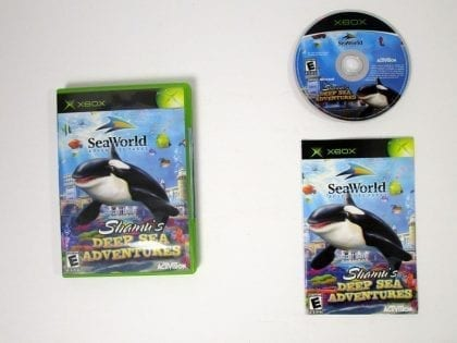 Shamu's Deep Sea Adventure game for Microsoft Xbox -Complete