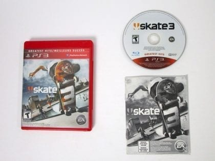 Skate 3 game for Sony Playstation 3 PS3 -Complete