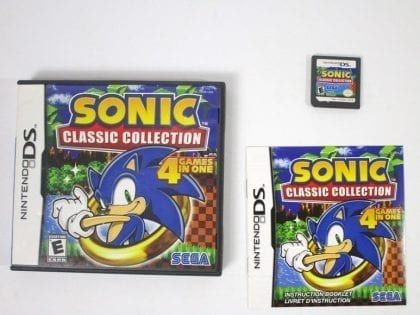 Sonic Classic Collection game for Nintendo DS -Complete