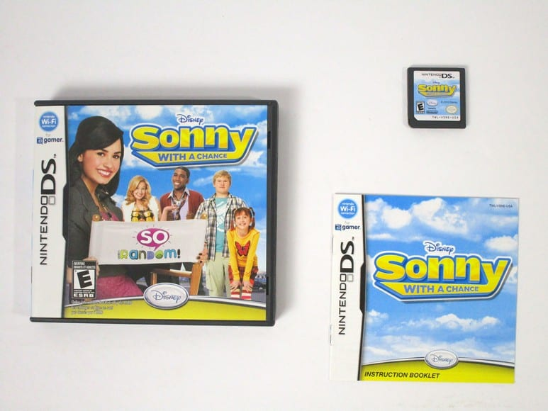 Sonny with a Chance game for Nintendo DS -Complete