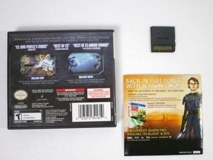 Star Wars: The Force Unleashed II game for Nintendo DS (Complete) | The Game Guy