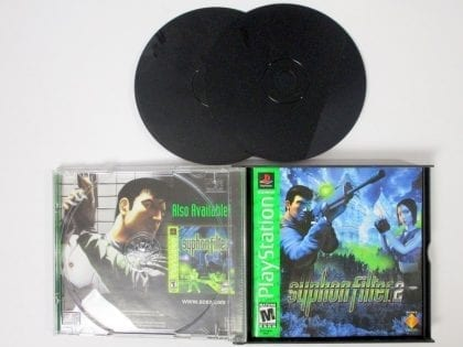 Syphon Filter 2 game for Playstation (Complete) | The Game Guy