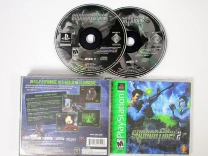 Syphon Filter 2 game for Sony Playstation PS1 PSX -Complete