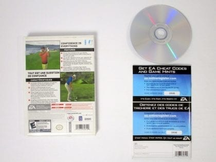 Tiger Woods PGA Tour 08 game for Wii (Complete) | The Game Guy