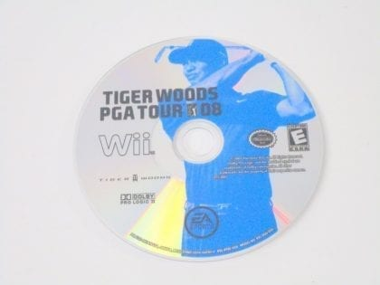 Tiger Woods PGA Tour 08 game for Nintendo Wii - Loose