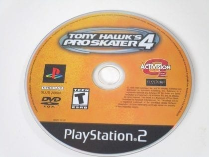 Tony Hawk 4 game for Sony Playstation 2 PS2 - Loose