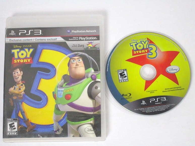 Case Of Toy Story Games : Toy story the video game for playstation