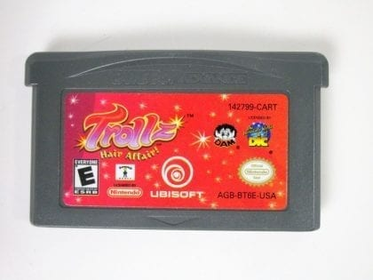 Trollz Hair Affair game for Nintendo Gameboy Advance - Loose