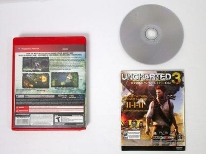 Uncharted Drake's Fortune game for Playstation 3 (Complete) | The Game Guy
