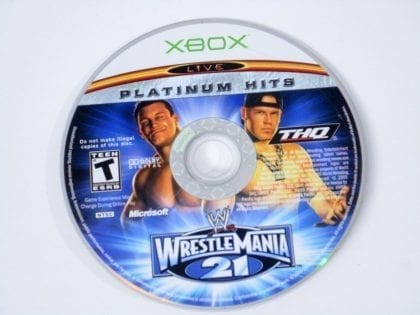 WWE Wrestlemania 21 game for Microsoft Xbox - Loose