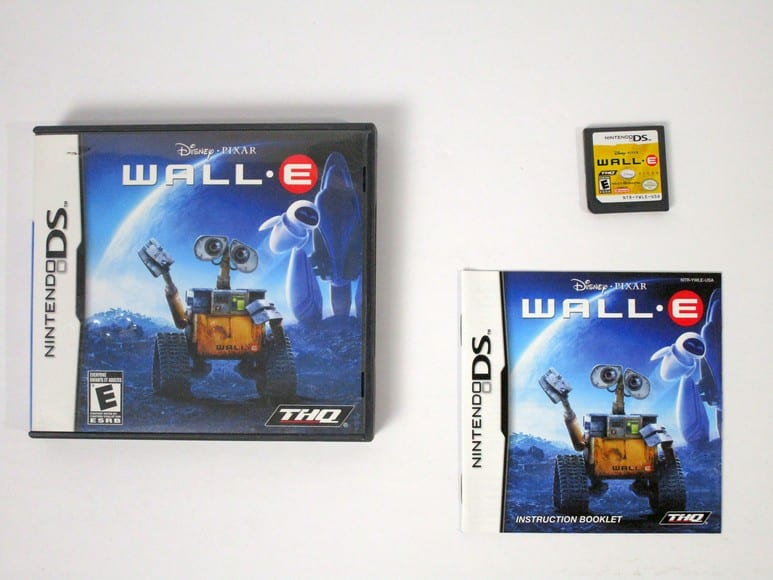 Wall-E game for Nintendo DS -Complete