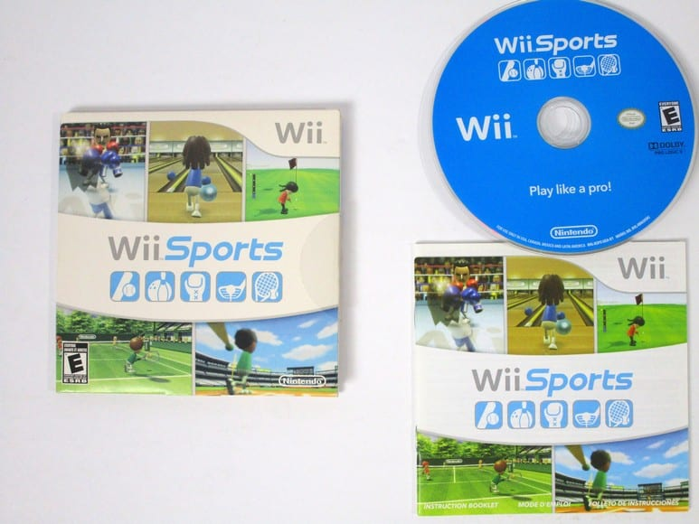 Wii Sports game for Nintendo Wii -Complete