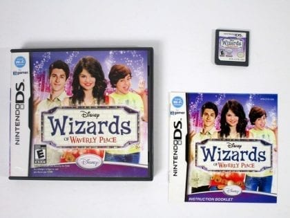 Wizards of Waverly Place game for Nintendo DS -Complete