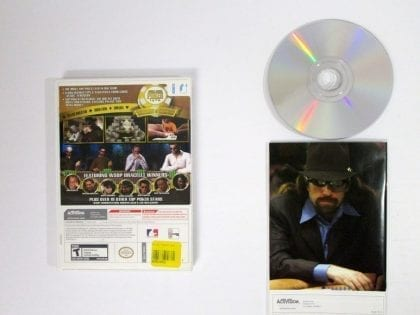 World Series of Poker Tournament of Champions 2007 game for Wii (Complete) | The Game Guy