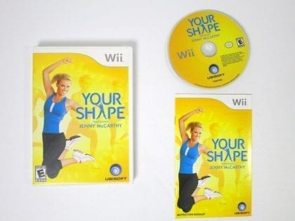 Your Shape game for Nintendo Wii -Complete